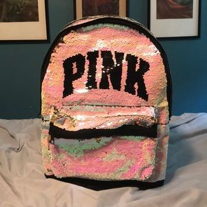VS PINK Bling Campus Backpack